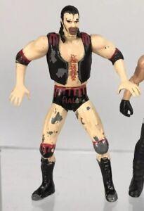 """Vintage Steel Slammers WCW nWo Scott Hall 3"""" Diecast Mini Figure WWF Razor Ramon"""