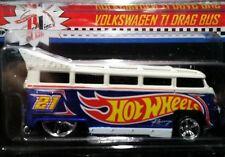 HOT WHEELS VW VOLKSWAGEN T1 DRAG BUS 2013 RLC RED LINE CLUB CAR EXCLUS 5214/5597