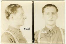 Photo Bertillon identification Policière Police Mug Shot Usa Vers 1930