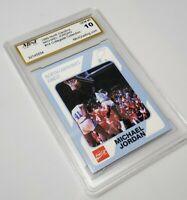 1989 North Carolina #14 Michael Jordan Collegiate Collection Mint Gem 10