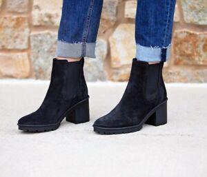 Vince Henderson Weatherproof Chelsea Ankle Boot Black 6.5,7,7.5,8,8.5,10 $395