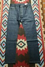 Samurai Jeans 13oz Selvedge Slim Tapered Denim Model Zero