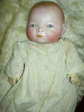 "Precious antique bisque ""Bye-Lo"" baby doll sgnd Grace Putnam~Germany compo hands"