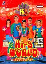 DVD Hi-5 : HI-5 WORLD * 5 EPISODES COMPLETE * SEA.13  Original Australia Series