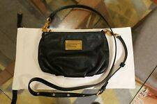 Marc by Marc Jacobs Classic Percy black leather adjustable cross-body bag