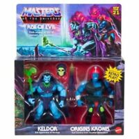 MOTU Origins Keldor & Kronis Rise Of Evil 2 Pk Target Exclusive Ships Now