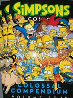 The Simpsons TPB Colossal Compendium Volume 4 Softcover Graphic Novel