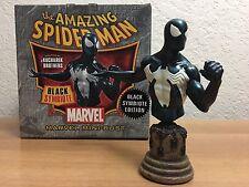 MARVEL BOWEN DESIGNS Spiderman Black Symbiote Mini Bust AP ARTIST PROOF Venom