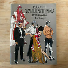Rudolph Valentino Cut Out Paper Dolls Tom Tierney Color