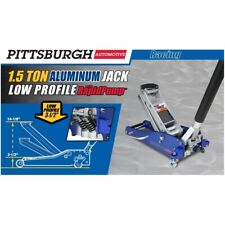 1.5 Ton Low Profile Aluminum Racing Floor Jack lifts 3000 lbs