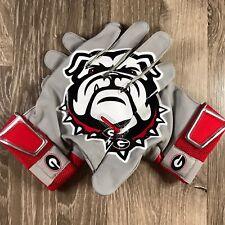 Nike MVP Hyperfuse Baseball Batting Gloves PBG446 Georgia Bulldogs Mens Size XL
