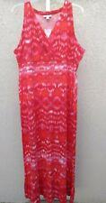 Women's Plus Sleeveless Maxi Dress size 2X by Fashion Bug