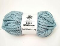Boho Bohemian Yarn By Loops & Threads In Berry Blue Tonic New 42 Yards
