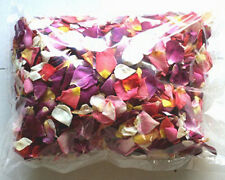Freeze Dried Rose Petals - 40CUPS Mixed selection - Aisle Scatter decoration