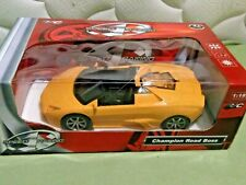 NWT Speed 1 Racing Remote Control Yellow Sport Car