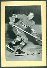 Tony Graboski 1934-43 Group 1 Beehive '34 Bee Hive Photo EXMT Montreal Canadiens