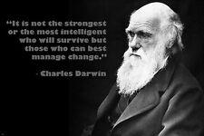 Charles Darwin Poster 24inx36in