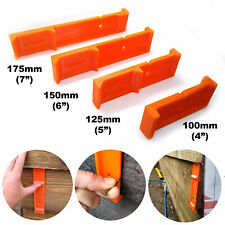 More details for feather edge close board cladding fencing spacer tool 100mm 125mm 150mm 175mm