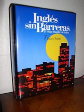 Ingles sin Barreras El Video-Maestro de Ingles - 7 Salud y Trabajo (VHS,Cass,Man