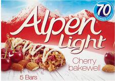 ALPEN LIGHT CHERRY BAKEWELL CEREAL BARS 3 x 5 PACK