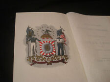 1870 BOSTON MASS LOYAL LEGION BOOKLET ~ LIST OF MEMBERS