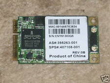 HP NC6400 Series 802.11abg Wireless Card 407108-001