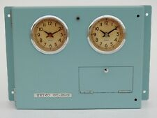 Vintage Maritime Seiko Master Clock QC-6MS Nautical Ship Quartz Made in Japan