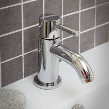 Tap Basin Mixer Mono WC Bathroom Chrome Sink Single Lever Brass Faucet Modern