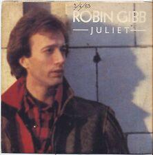 "ROBIN GIBB - Juliet - VINYL 7"" 45 ITALY 1983 VG+ COVER VG CONDITION"