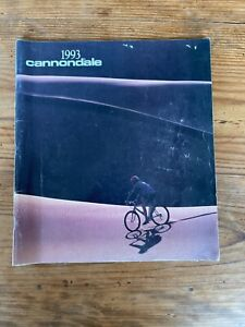 CANNONDALE 1993 catalog perfect