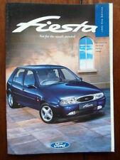 FORD FIESTA Range 1995-96 UK Mkt prestige sales brochure - Encore LX Si Ghia