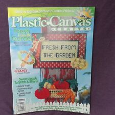 Plastic Canvas Crafts Magazine August 1998 Garden Angels Wreath Pet Photo Frames