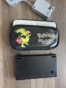 Nintendo DSi Pokemon Black Reshiram & Zekrom Limited Console, Stylus, & Charger