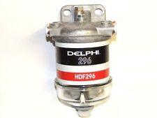 SINGLE WATER SEPARATOR ASSEMBLY 14MM FUEL FILTER GLASS BOWL WITH DELPHI HDF296