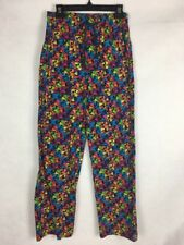 Disney Parks Mickey Mouse Pajama Lounge Scrub Pants Small Andy Warhol L198