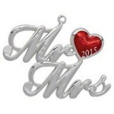 Harvey Lewis Ornament Mr Mrs Anniversary Newlywed 2015 Swarovski Holiday