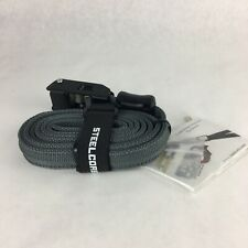 SteelCore Outdoors Locking Tie Down Security Strap - gray -  6' - Tiedown Lock