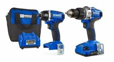 Kobalt 2-Tool 24-Volt Max Brushless Power Tool Combo Kit with Soft Case (Charger