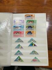 9 Pages MNH Latin America Topical Stamps Collection - Fish, Animal, Flowers