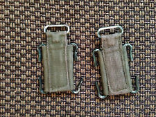 Pair of  British Army Surplus 58 Pattern webbing Yoke attachments