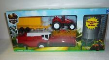 Country Life Childrens Farming Tractor Trailer Combine & Silo Play Set New Large