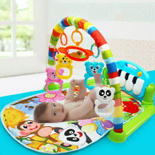 Xmas Gift Baby Gym Play Mat Musical Activity Center Kick And Play Piano Toy 3in1