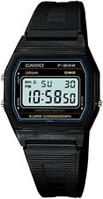 Casio Men's Watch Standard Digital Black F-84W-1 New Free Shipping with Tracking