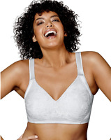 New Bra Playtex 18-Hour Undercover Slimming WF White US4912 MSRP-$36.00 36B