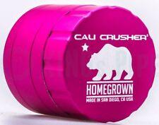 Cali Crusher - Homegrown 4 Piece Herb Grinder - 2.35'' Standard Size - Pink