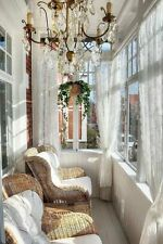 "IKEA ALVINE SPETS Curtains SHEER LACE OFF WHITE 2 Panels 57"" X 98"" NEW FREE SHIP"
