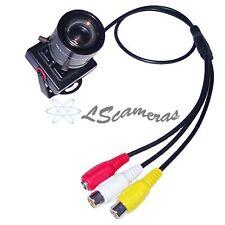 Mini Sony effio-e 9-22mm ZOOM Manual Focal 700TVL Security Color CCTV Camera MIC