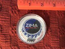 Vintage ZIMA Clearmalt Plastic Balance Bar Game w/ 4 Balls, 1990s.