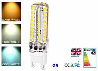 G9 4.5W LED Light Bulb Dimmable Cool Pure Warm White 220-240V AC Energy Saving
