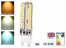 Bombilla Led SMD Silicona Regulable G9 4.5w 72 piezas Bombilla LED Luz